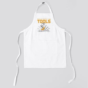 Don't Touch My Tools Or My Daughter Kids Apron