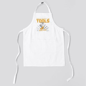 Don't Touch My Tools Or My Guns gra Kids Apron