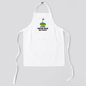 I play golf kids Kids Apron