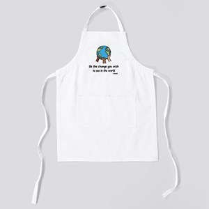 be the change Kids Apron