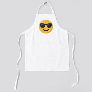 Sunglasses Emoji Kids Apron