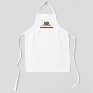 California_shirt Kids Apron