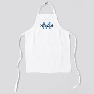 Personalize Iniital, and name Kids Apron