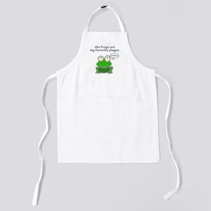 frog-plague Kids Apron