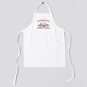 Snoopy - Happiness is Spring Flowers Kids Apron