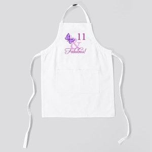 Fabulous 11th Birthday For Girls Kids Apron