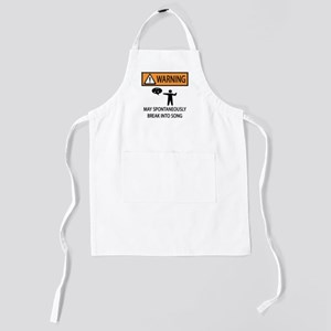 songs Kids Apron