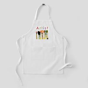 artist-paint-brushes-01 Kids Apron