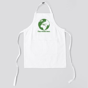 I'm With Her Kids Apron