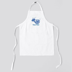 French Horn Customized Kids Apron