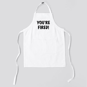 You're Fired Kids Apron