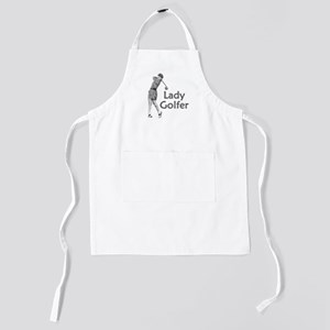 Lady Golfer Kids Apron