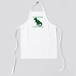 CUSTOM TEXT T-Rex Kids Apron