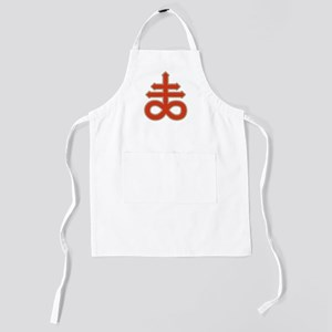 Satanic Cross Kids Apron