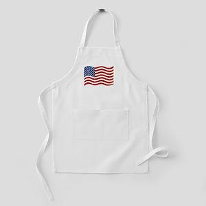 sequin american flag Kids Apron