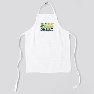 Autism-ugly-duckling-white Kids Apron