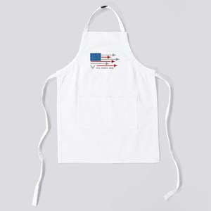 USAF Fly. Fight. Win Kids Apron