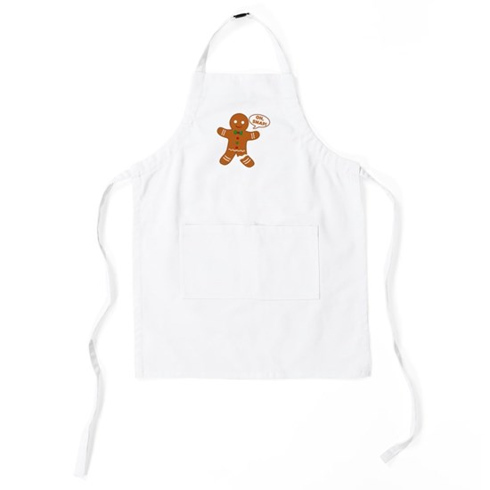 Oh Snap Gingerbread Man Kids Apron By Nadil1 Cafepress