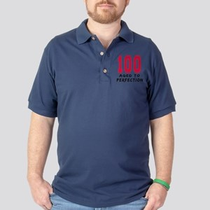 100 Year birthday designs Golf Shirt
