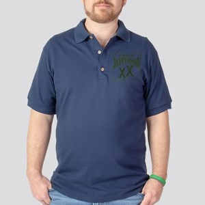 Jefferson XX State Golf Shirt