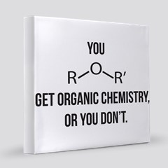 Ether You Get Ochem 35x21 Oval Wall Decal By