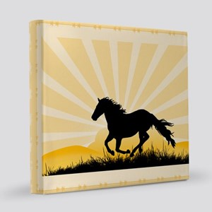 Running Horse 7200 8x8 Canvas Print