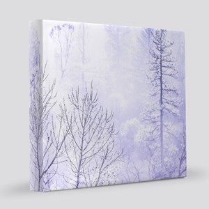 Waiting For Snow 8x8 Canvas Print