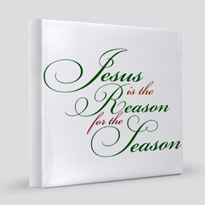 Jesus is the Reason for the Seaso 8x8 Canvas Print