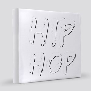 HIP HOP 8x8 Canvas Print
