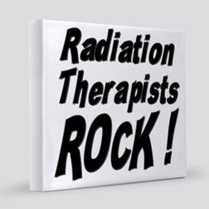 radiation therapists 8x8 Canvas Print