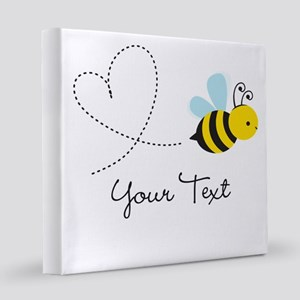 Cute Bee and Heart; honeybee; Personalized Kid's 8