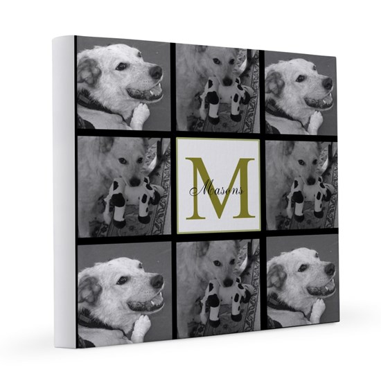 Beautiful Photo Block and Monogram
