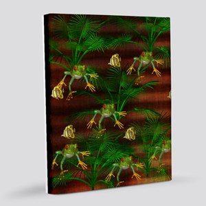 Toads and Fishes 8x10 Canvas Print