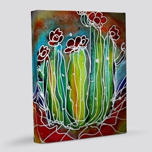 Cactus, southwest desert art! 8x10 Canvas Print