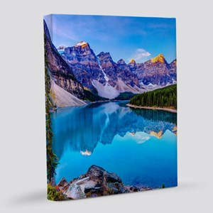 Beautiful Mountain Landscape 8x10 Canvas Print