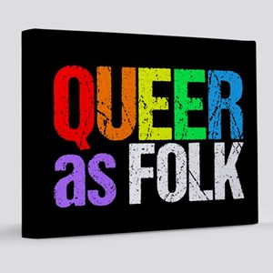 Queer as Folk 8x10 Canvas Print