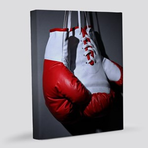 Boxing Gloves 8x10 Canvas Print