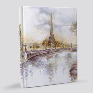 Eiffel Tower Painting 8x10 Canvas Print