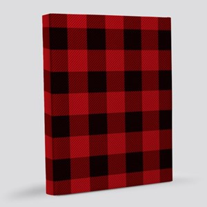 Lumberjack Cottage Buffalo Plaid 8x10 Canvas Print