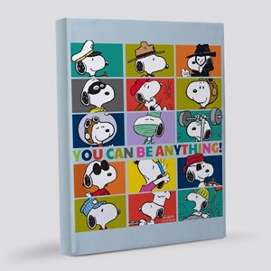 Snoopy-You Can Be Anything-FB 8x10 Canvas Print