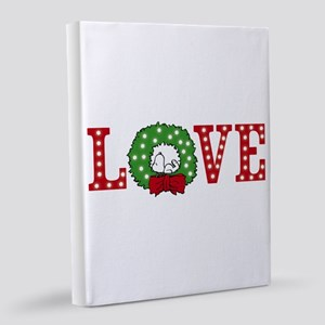 Snoopy Holiday Love 8x10 Canvas Print