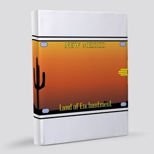 New Mexico License Plate 8x10 Canvas Print