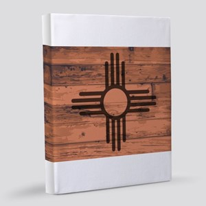 New Mexico State Flag Brand 8x10 Canvas Print