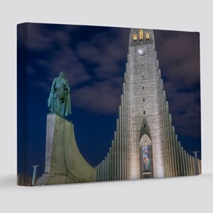 night view8x10 Canvas Print