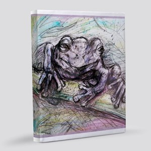 Tree Frog, nature art! 8x10 Canvas Print