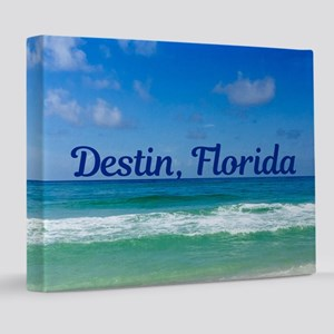 Destin Beach 8x10 Canvas Print