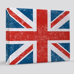 vintage-union-jack-big 8x10 Canvas Print