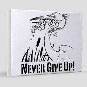 Never Give Up 8x10 Canvas Print