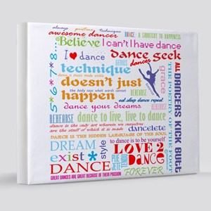 Ultimate Dance Collection 8x10 Canvas Print
