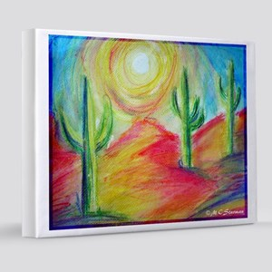 Desert, Southwest art! 8x10 Canvas Print